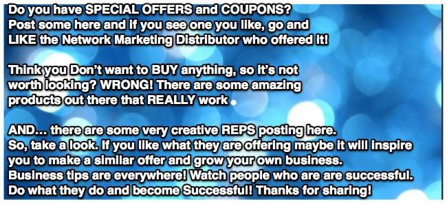 blue bubble post coupons fb post
